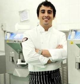 """Gelato World Tour: il sorrentino Andrea Way Grandville tra i primi quattro """"gelatieri"""" al mondo"""