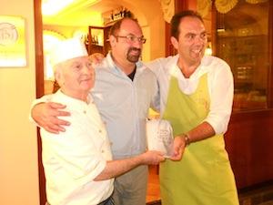 Questa sera all'hotel Conca Park la presentazione del libro dello chef Franco Luise