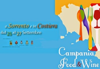 Sorrento, al via la IV edizione di Campania Food & Wine