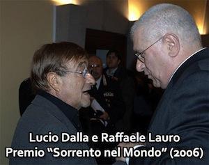 A Uno Mattina un servizio sull'omaggio di Sorrento a Lucio Dalla