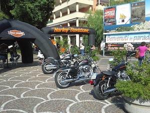 Le Harley-Davidson tornano nel paradiso della costiera