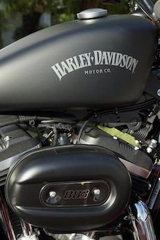 A Vico Equense motoraduno di Harley-Davidson