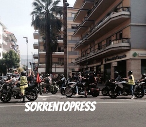 """Il motoraduno """"Fire Fest"""" fa tappa a Sorrento"""