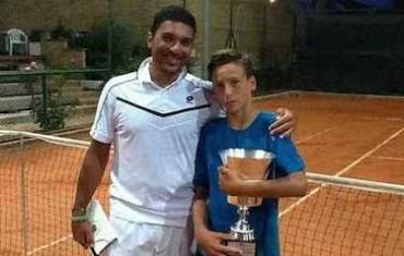 Il fenomeno del tennis Riccardo Perin si conferma campione d'Italia under 14