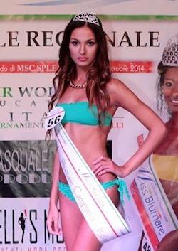 Francesca Tizzano parte alla conquista della fascia di Miss Blumare