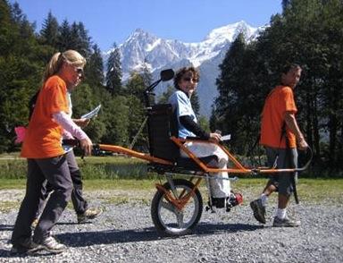 Una serie di iniziative per l'acquisto di carrozzine per disabili