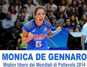 L'Italia crolla nel finale, ma Monica De Gennaro è il miglior libero del mondiale