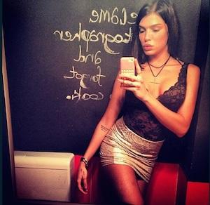 La Serie A scopre Jovana Svonja, la fidanzata di Djordjevic