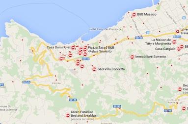 B&b senza permessi: chiuse tre case-vacanza a Sorrento