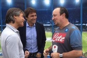 Sorpresa a Castel Volturno: Antonio Conte all'allenamento del Napoli