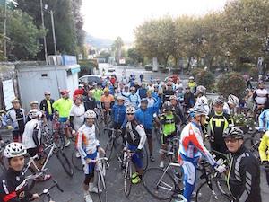 In bici dalla penisola a Pompei in memoria di Ivan Porzio