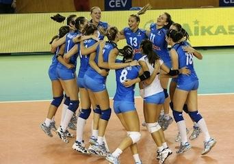 Italia pazza per le sue pallavoliste: ore 20:35 su Rai2 la semifinale con la Cina