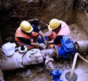 Lavori alla rete idrica: stop all'acqua a Massa e Meta