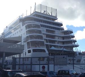 Msc presenta l'Armonia, la nave allungata di 24 metri