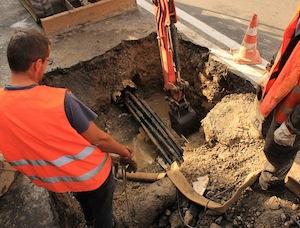 Lavori alla rete idrica: giovedì senza acqua a Massa Lubrense