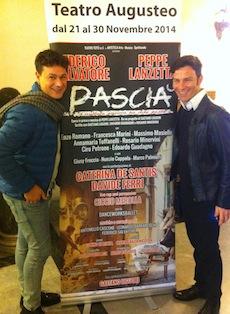 Al Teatro Augusteo arriva Pascià, il nuovo spettacolo di Marco Palmieri