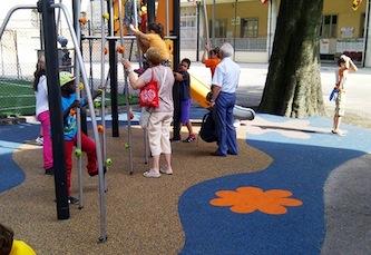 Un nuovo parco giochi a Monticchio