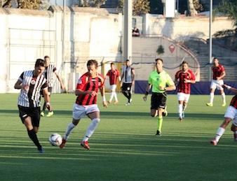 Caraccio regala tre punti fondamentali al Sorrento: 1 a 0 alla Battipagliese