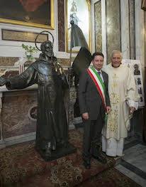Presentata la statua di Sant'Agnello dopo il restauro