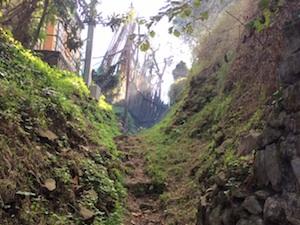 Frane e incuria: via Li Simoni percorso per alpinisti