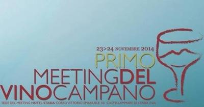 Castellammare, al via la prima edizione del Meeting del vino campano