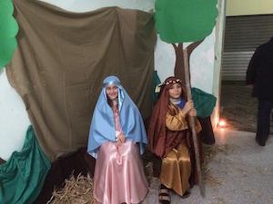 Bimbi pastori in vico Sant'Aniello