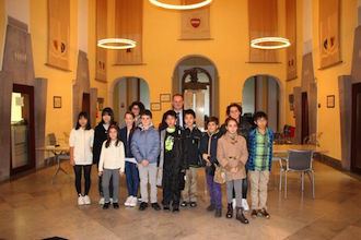 Studenti giapponesi ospiti a Sorrento