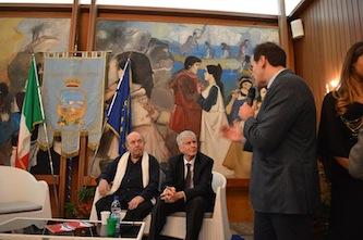 Lino Banfi premiato alla XIX edizione del Premio Arturo Esposito