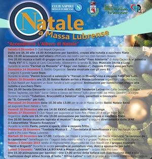Il calendario degli eventi natalizi a Massa Lubrense