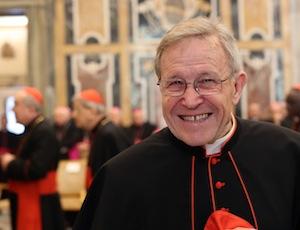 Salta l'incontro con il cardinale Kasper