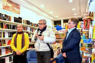 """Alla libreria Tasso presentato """"Inchiostro rosso"""""""