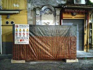 Fontane storiche nel centro di Sorrento: via al restauro