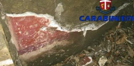 Traffico internazionale di reperti archeologici: tombaroli attivi anche a Pompei