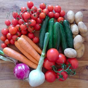 A Massa Lubrense mercatino dei prodotti agricoli locali