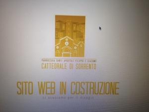 Dal 25 gennaio on line il nuovo sito della cattedrale di Sorrento