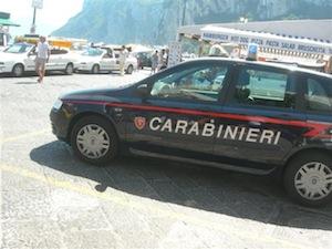 Accusa di corruzione: trasferito il comandante dei carabinieri di Capri