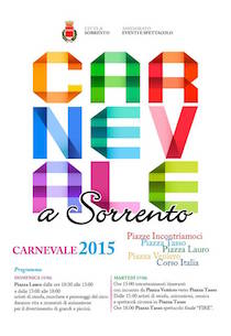 Carnevale: il programma di Sorrento