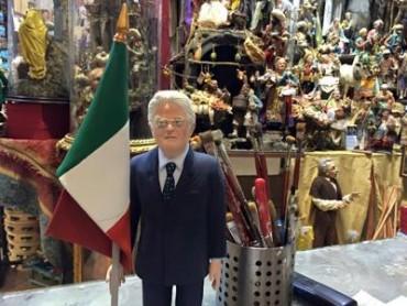 Sergio Mattarella è già nelle botteghe di San Gregorio Armeno