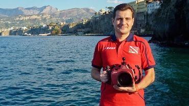 E' di Sorrento il miglior fotografo subacqueo del mondo