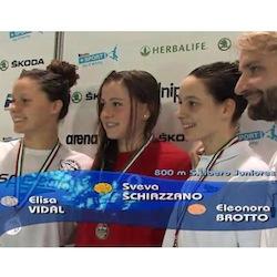Nuoto, doppio Oro per Sveva Schiazzano