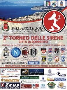 Dal 9 al 12 aprile la II edizione del Torneo delle Sirene