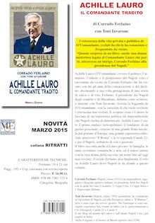 Sabato la presentazione del libro su Achille Lauro