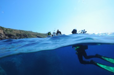 "Al Parco Marino di Punta Campanella il workshop : ""Underwater 3D recording and modelling"""