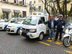Nuovi veicoli per i vigili di Sorrento
