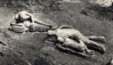 Pompei: studiati e restaurati i calchi delle vittime dell'eruzione del Vesuvio del 79 d.C.