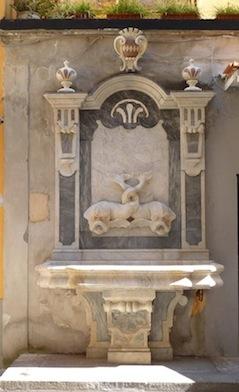 """Completato il restauro dello """"Schizzariello""""  e della fontana di Sant'Antonino"""