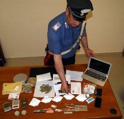 Ordinava droga sul web con consegna per posta, arrestato