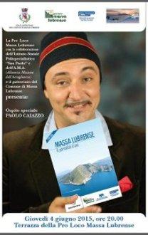 Paolo Caiazzo presenta la guida di Massa Lubrense