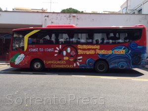 City Sightseeing Sorrento & Amalfi Coast cerca tirocinanti per l'estate, tutte le info