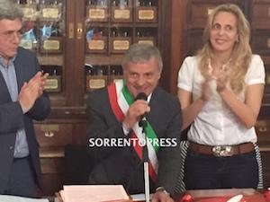 Il sindaco di Massa Lubrense nomina la Giunta